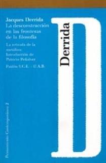 La deconstrucción en las fronteras de la filosofía