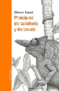 PRINCIPIOS DE SABIDURÍA Y DE LOCURA