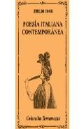 POESÍA ITALIANA CONTEMPORÁNEA